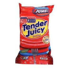 Purefoods Tj Jumbo Hotdogs 1Kg