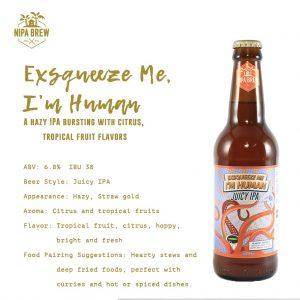 Nipa Brew Exsqueeze Me I'm Human 330ml